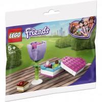 LEGO® Polybag LEGO Friends - 30411 - Pralinenschachtel & Blume