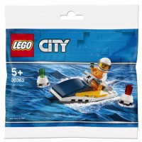 LEGO® Polybag LEGO City - 30363 -Rennboot