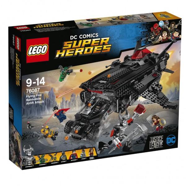 Flying Fox: Batmobil-Attacke aus der Luft