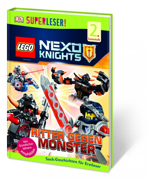 SUPERLESER! LEGO® NEXO KNIGHTS™. Ritter gegen Monster