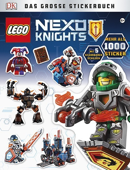 LEGO® NEXO KNIGHTS™ Das große Stickerbuch