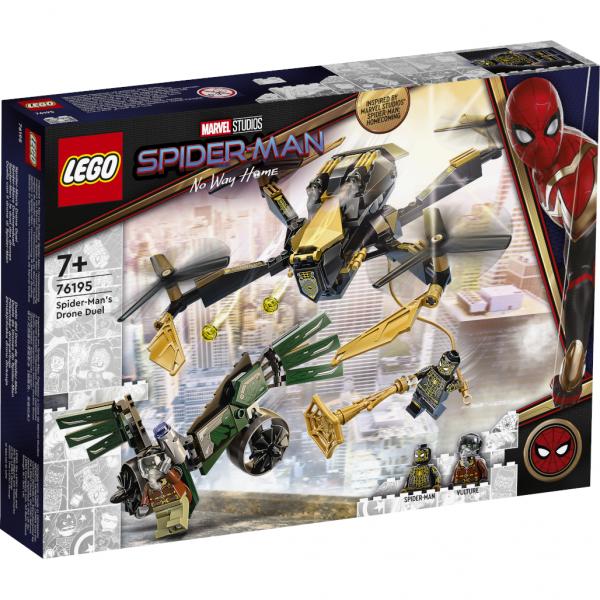 Super Heroes Spider-Mans Drohnenduell