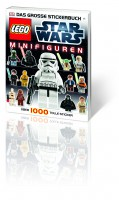 Dorling Kindersley LEGO Star Wars Minifiguren Das große Stickerbuch