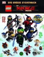 Dorling Kindersley THE LEGO® NINJAGO® MOVIE Das große Stickerbuch