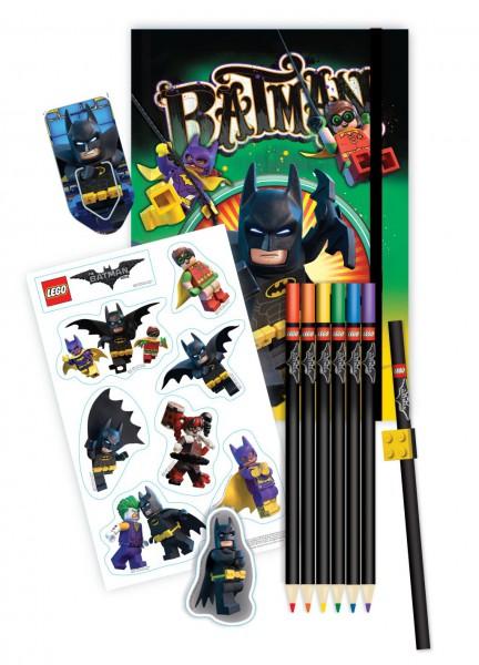 LEGO® Batman Movie Schreibwaren-Set (6-teilig)